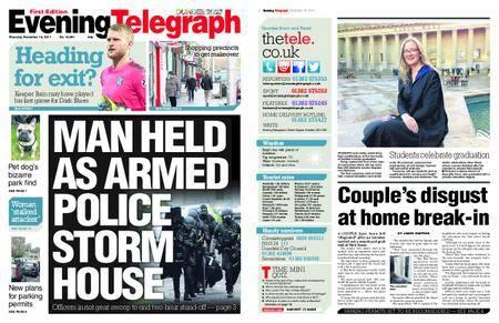 Evening Telegraph First Edition – November 16, 2017
