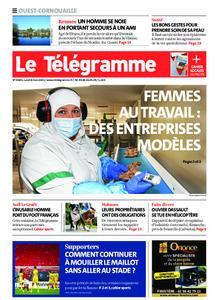 Le Télégramme Ouest Cornouaille – 08 mars 2021