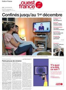 Ouest-France Édition France – 29 octobre 2020