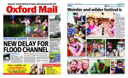 Oxford Mail – August 05, 2019