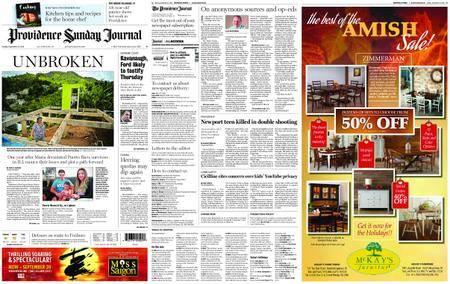The Providence Journal – September 23, 2018