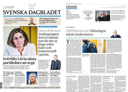 Svenska Dagbladet – 20 mars 2019