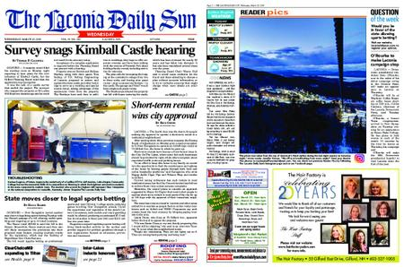 The Laconia Daily Sun – March 20, 2019