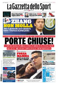 La Gazzetta dello Sport – 04 marzo 2020