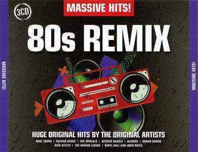 VA - Massive Hits! 80s Remix (2011)