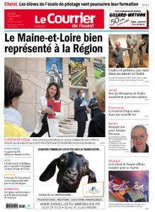 Le Courrier de l'Ouest Cholet – 03 juillet 2021