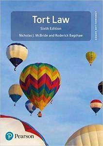 Tort Law, 6th edition