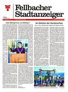 Fellbacher Stadtanzeiger - 09. Oktober 2019