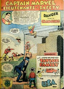 Captain Marvel and the Lieutenants of Safety 02 (Fawcett 1950)