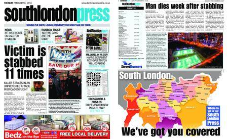South London Press – February 06, 2018