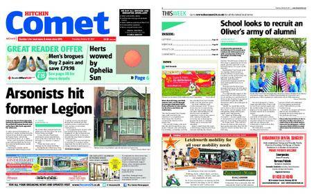 The Comet Hitchin – October 19, 2017