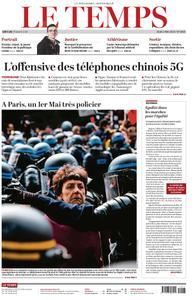 Le Temps - 02 mai 2019