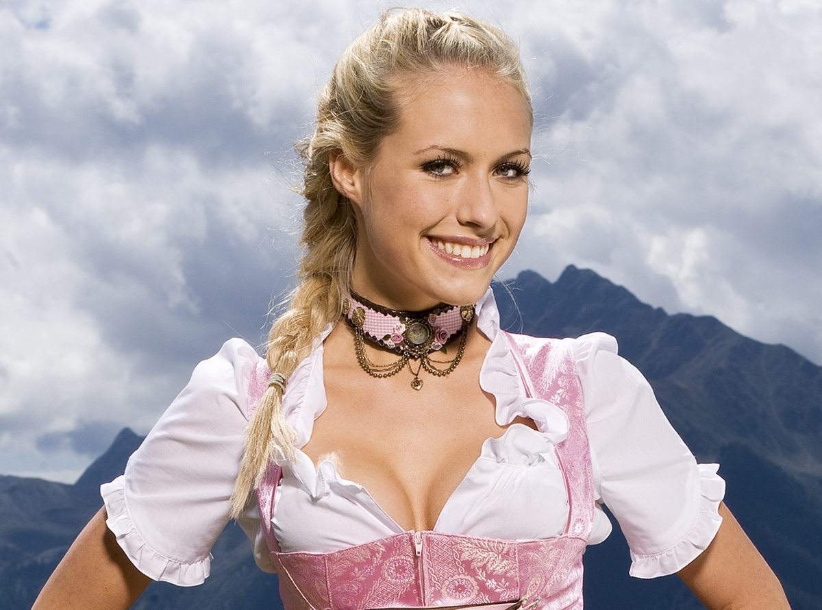 Alena Gerber - German Playmate of the Month for October