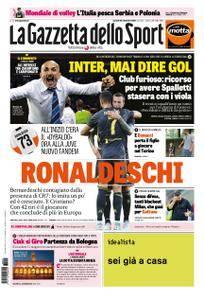 La Gazzetta dello Sport Roma – 25 settembre 2018