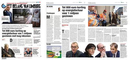 Het Belang van Limburg – 12. oktober 2021