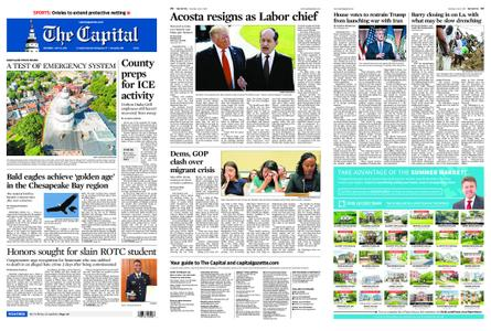 The Capital – July 13, 2019