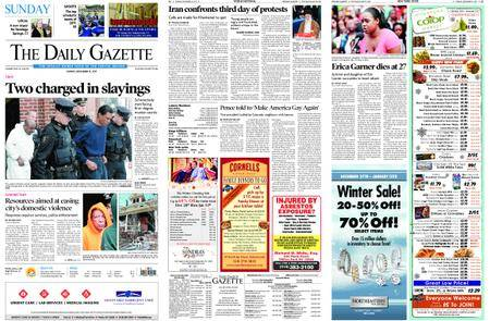 The Daily Gazette – December 31, 2017
