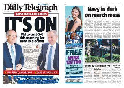 The Daily Telegraph (Sydney) – April 11, 2019