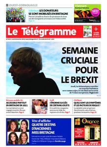 Le Télégramme Ouest Cornouaille – 09 décembre 2019
