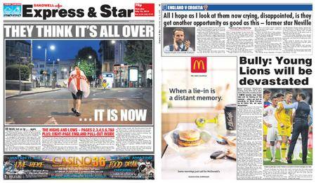 Express and Star Sandwell Edition – July 12, 2018