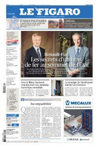 Le FIgaro du Mercredi 19 Juin 2019