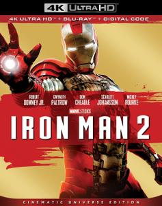 Iron Man 2 (2010) [4K, Ultra HD]