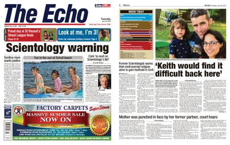 Evening Echo – July 16, 2019