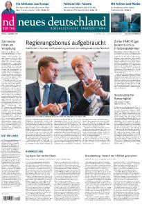 Neues Deutschland - 2 September 2019