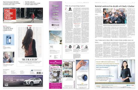 The Globe and Mail – May 25, 2019