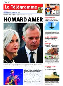 Le Télégramme Brest Abers Iroise – 17 juillet 2019