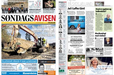 Søndagsavisen Sydsjælland – 21. november 2019