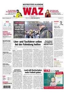 WAZ Westdeutsche Allgemeine Zeitung Oberhausen-Sterkrade - 13. Dezember 2017