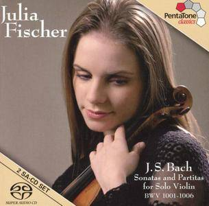 Julia Fischer - J.S. Bach - Sonatas And Partitas For Solo Violin BWV 1001-1006 (2005) [SACD-R][OF]