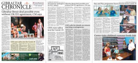 Gibraltar Chronicle – 01 September 2020