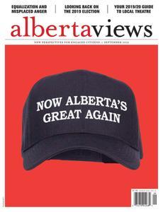 Alberta Views Magazine – September 2019