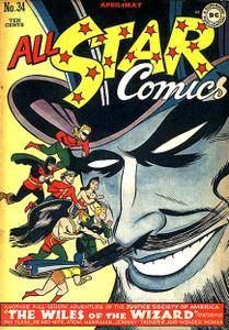All Star Comics 034