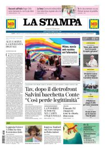 La Stampa Torino Provincia e Canavese - 3 Marzo 2019