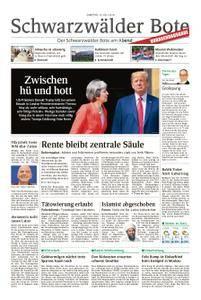 Schwarzwälder Bote Sulz - 14. Juli 2018