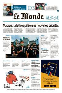 Le Monde du Samedi 06 Juin 2020