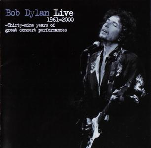 Bob Dylan - Live 1961-2000, Thirty-Nine Years Of Great Concert Performances (2001) {SME Records Japan SRCS 2438}