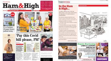 Ham & High – September 03, 2020