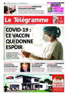 Le Télégramme Landerneau - Lesneven – 10 novembre 2020