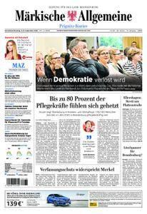 Märkische Allgemeine Prignitz Kurier - 08. September 2018