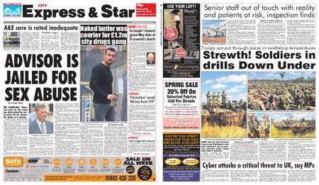 Express and Star City Edition – April 18, 2018