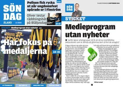 Ålandstidningen – 02 september 2018
