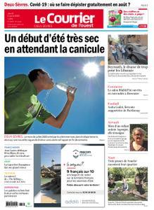Le Courrier de l'Ouest Deux-Sèvres – 06 août 2020