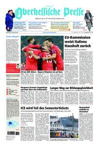 Oberhessische Presse Hinterland - 24. Oktober 2018