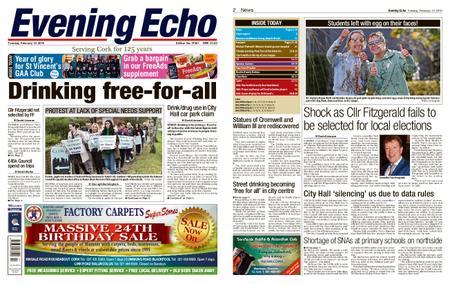 Evening Echo – February 12, 2019