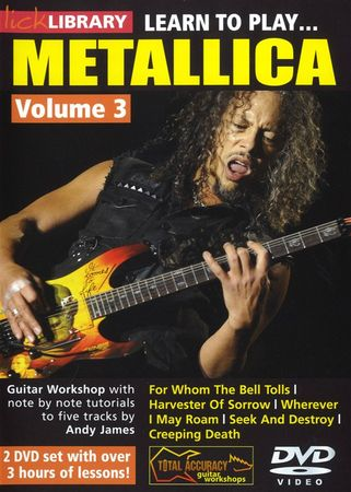 Lick Library - Learn To Play Metallica Vol. 3