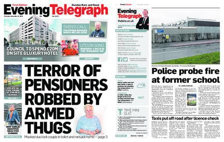 Evening Telegraph First Edition – November 15, 2018